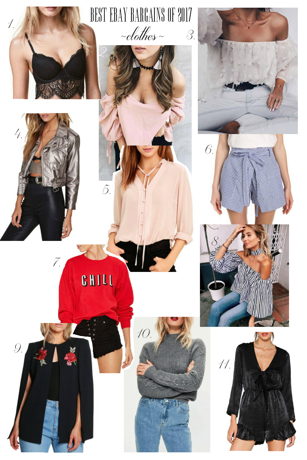 Favorite clothes on eBay of 2017