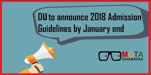 DU Admission Guidelines