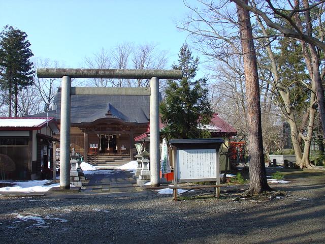Akita Hachiman Shrine 秋田八幡神社