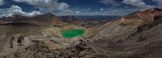 Emerald Lakes on Mt. Tongariro