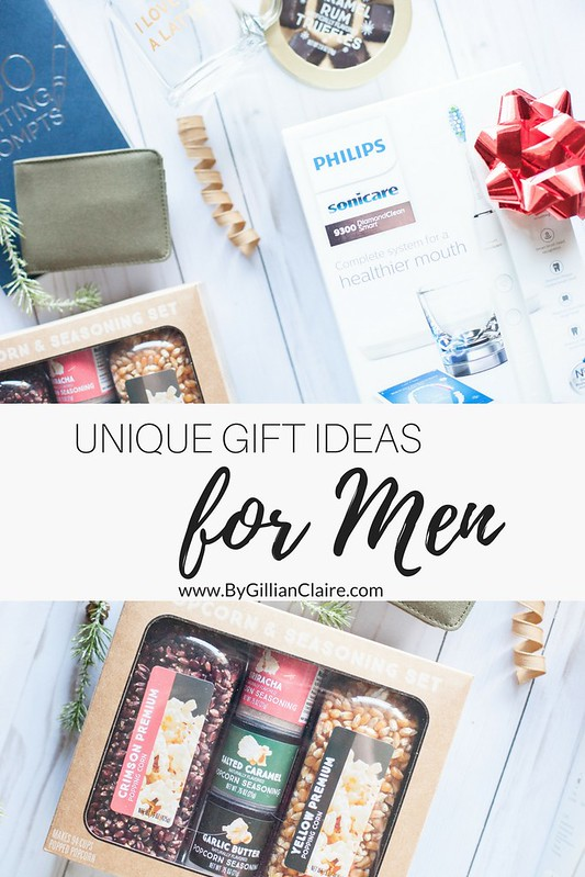 Unique Gift Ideas for Men By Gillian Claire