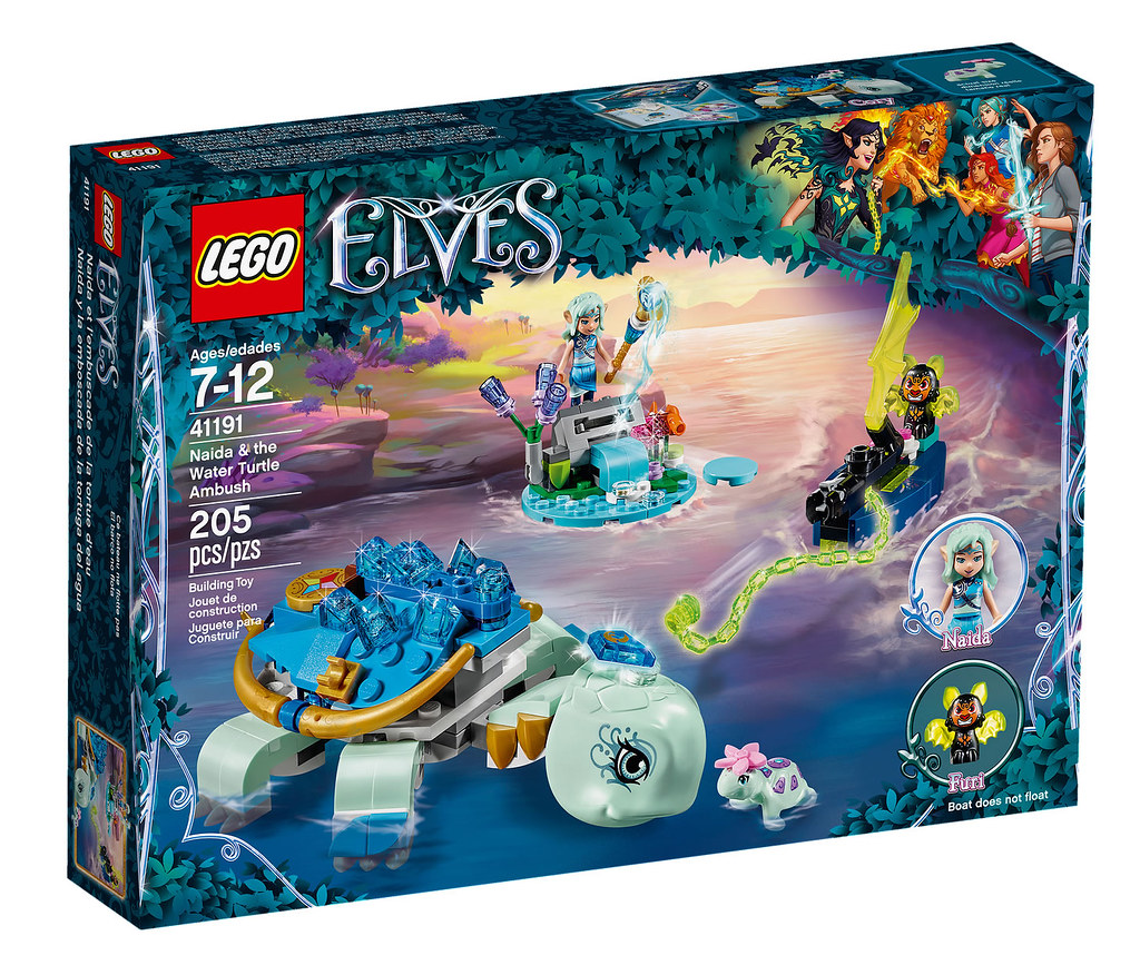 LEGO Elves 41191 - Naida and Water Turtle Ambush