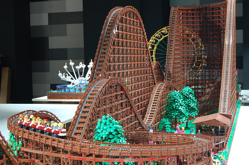 Take A Ride On The World S Largest Wooden Lego Roller