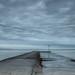 A Cold and Grey Day At Seasalter