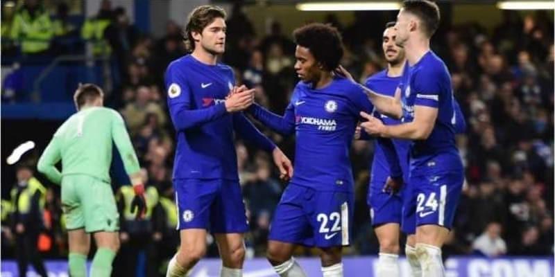 Lihat Chelsea Habisi Stoke City Lima Gol Tanpa Balas