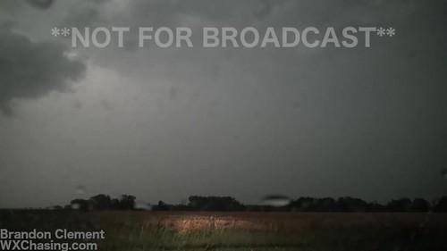 6-17-2017 Walton, Ks Timelapse Severe Thunderstorm