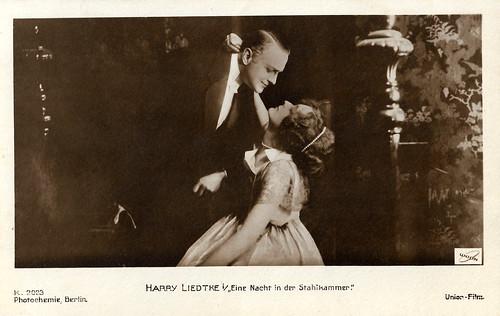 Harry Liedtke in Eine Nacht in der Stahlkammer (1917)