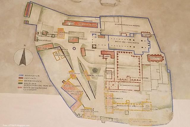 Plan der Anlage