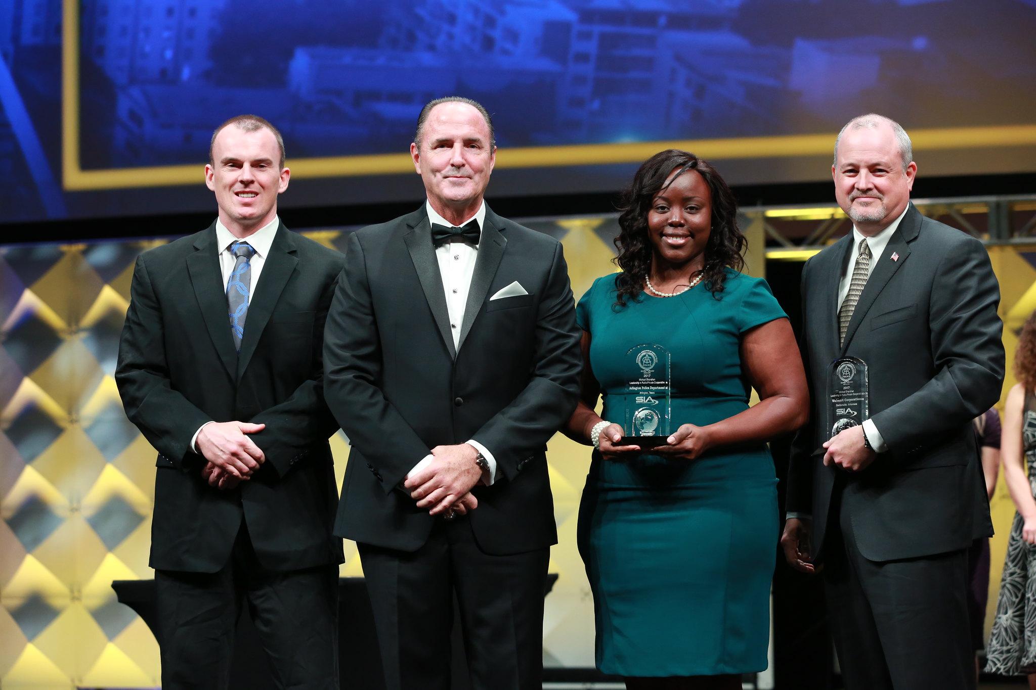 IACP Michael Shanahan Leadership in PublicPrivate Cooperation Award - Arlington and Walmart