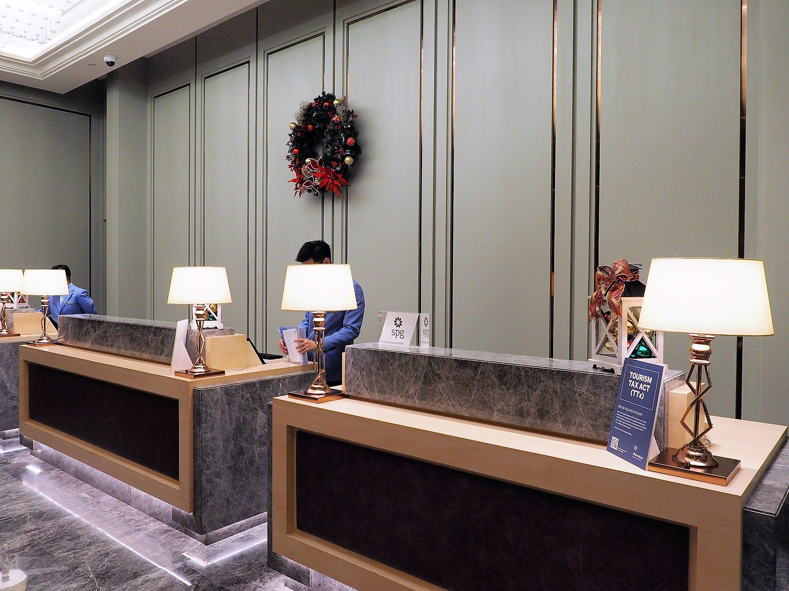 Lobby of Sheraton Petaling Jaya Hotel