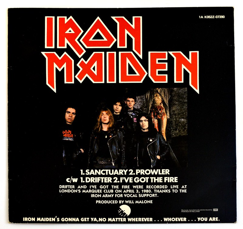 A0372 Iron Maiden Sanctuary (Maxi)