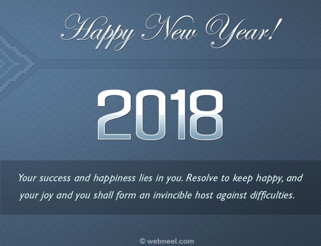 30+ ý tưởng thiết kế thiệp chào năm 2018