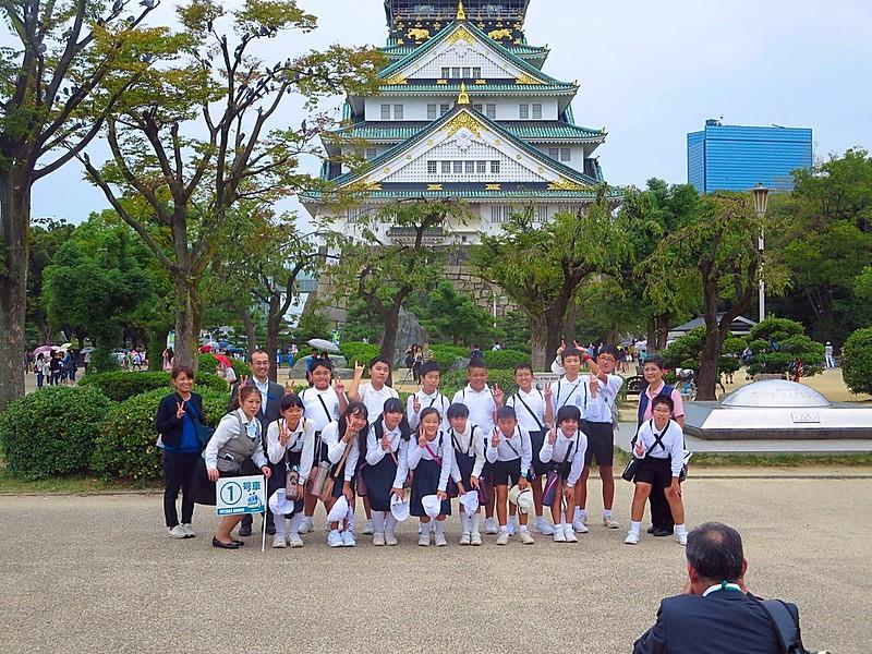 Sixteenth century Osaka Castle
