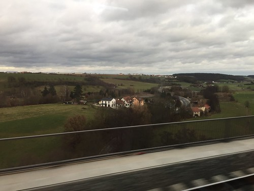 Train From FRA Airport to Nurenburg Germany