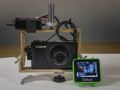 Video-Downlink-montiert an der Minimal-RIG