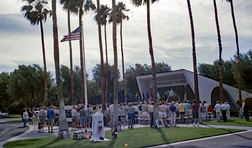 Dedication Ceremony For First LGBT Veterans Memorial - Ektachrome - 2001 (3)