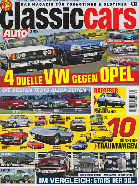 Image of Auto Zeitung - Classic Cars 9/2013