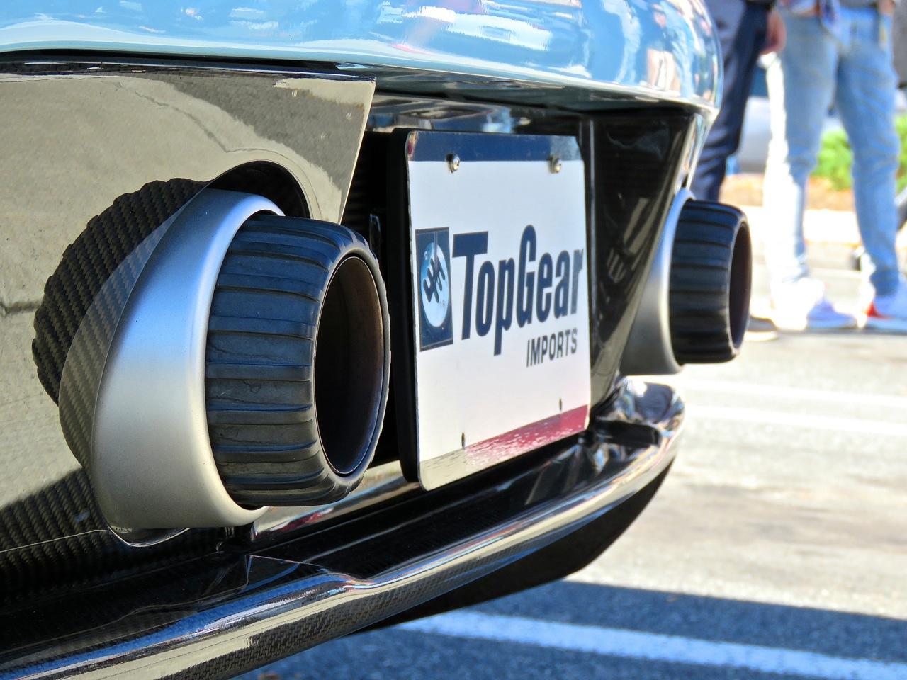 Baby Blue Porsche Carrera GT 5