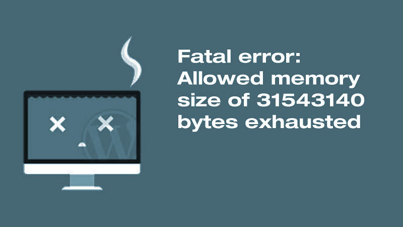 Fatal error layar putih yang disebabkan oleh kekurangan memori PHP