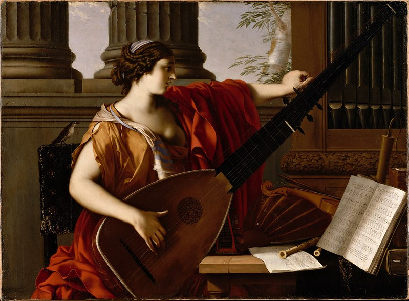 Laurent de La Hyre - Allegory of Music (1649)