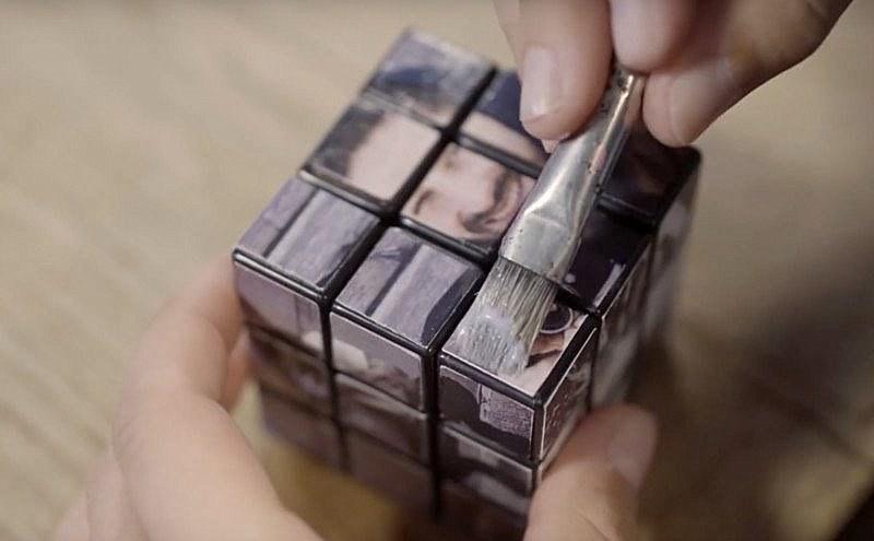 photo-cube