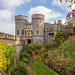 Windsor Castle during autumn - England