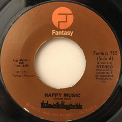 THE BLACKBIRDS:HAPPY MUSIC(LABEL SIDE-A)