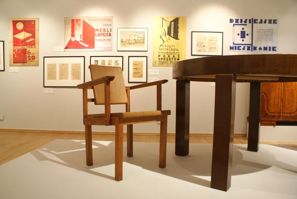 Design et art décoratifs - Expo sur le modernisme à Lwow au MCK à Cracovie.