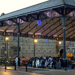 Festive Victorian open Market at Preston