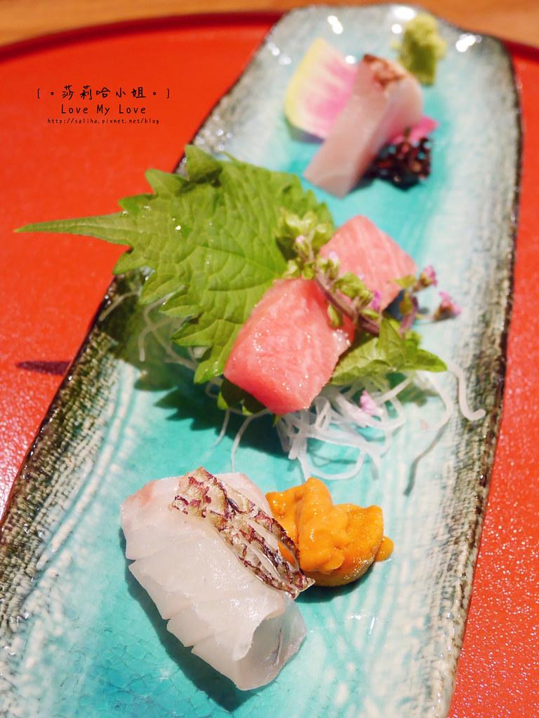 光琳割烹日本料理大安店生魚片 (1)