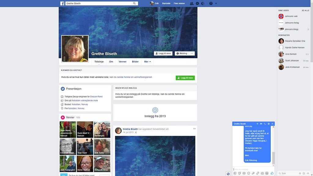 grethe biseth facebook