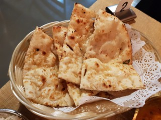 Garlic Naan at Eden Garden Indian Cuisine
