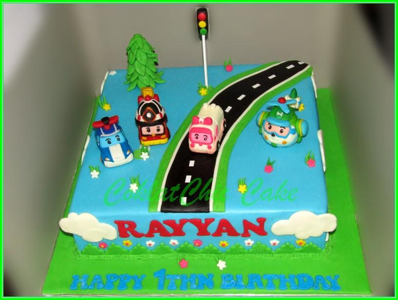 Cake Robocar Poli RAYYAN 30cm