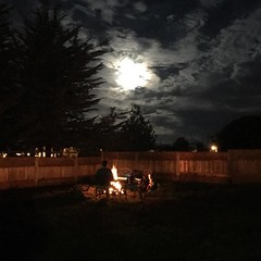 S'mores, campfires, super moon... bring it 2018...