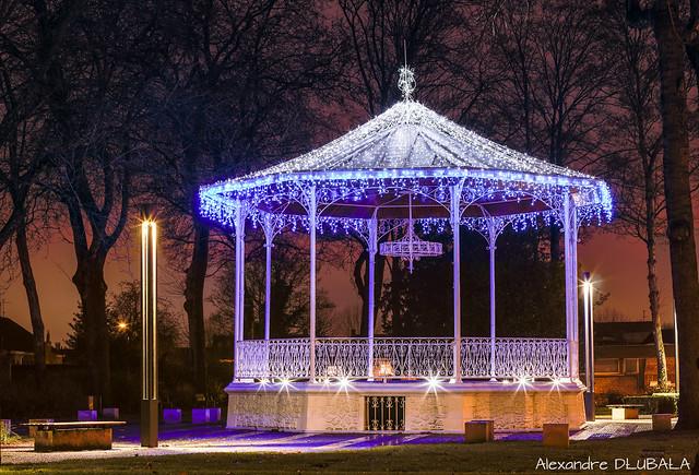 Bandstand with christmas lights (v.2017)