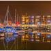 Portishead Marina at Xmas