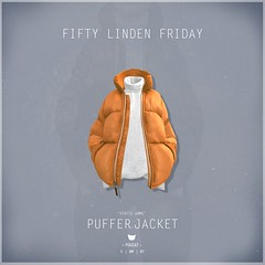 Puffer.Jacket Orange - FLF