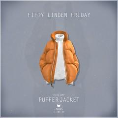 Puffer.Jacket Orange - FLF