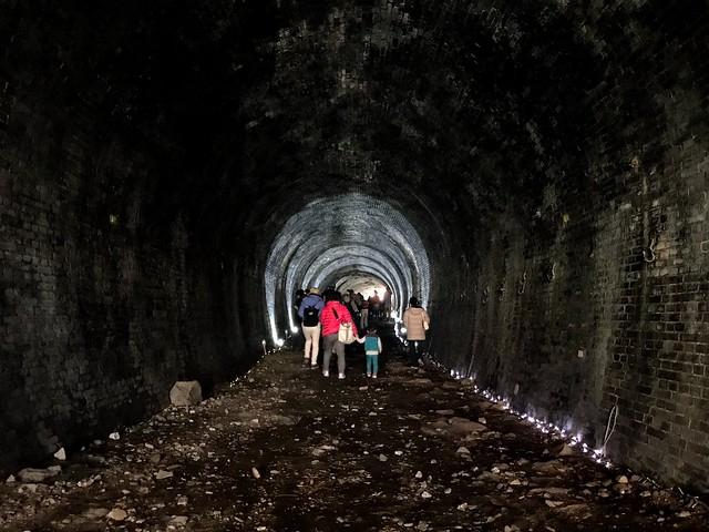 愛岐トンネル群 3号トンネル内部