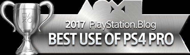 PlayStation Blog Game of the Year 2017 - Best Use of PS4 Pro (Silver)