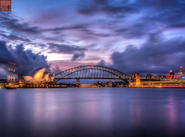 opera house and harbour bridge Sydney (11 of 1)