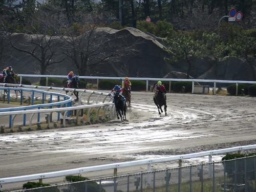 金沢競馬場の4コーナー