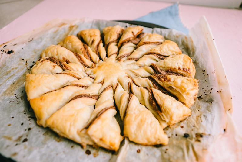 puff pastry dessert idea - vegan