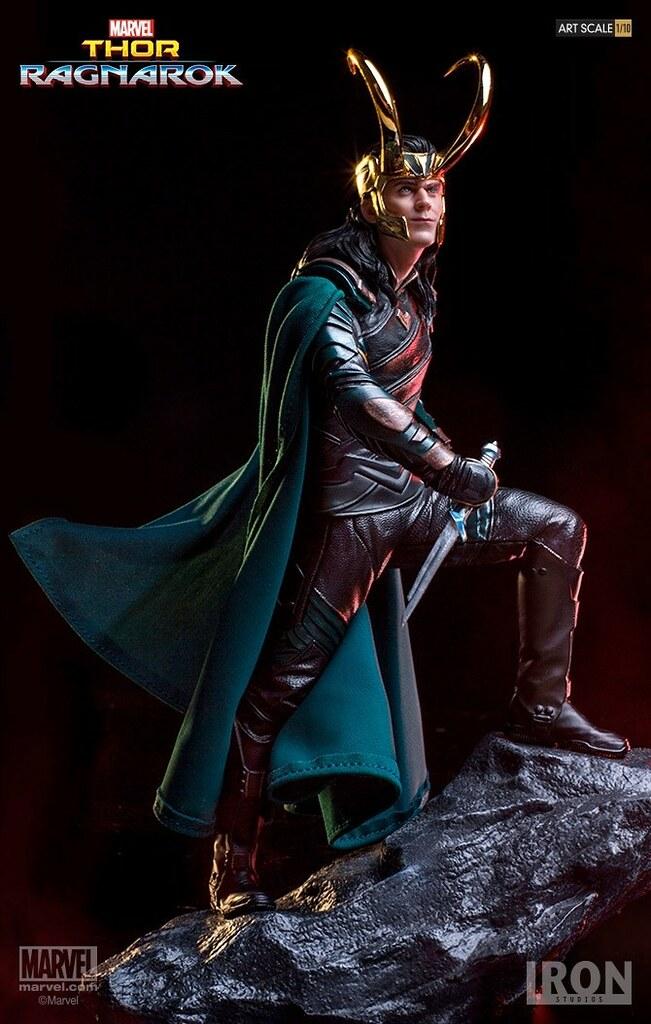 怎麼壞,還是帥!! Iron Studios Battle Diorama 系列《雷神索爾3:諸神黃昏》洛基 Thor: Ragnarok Loki 1/10 比例決鬥場景作品