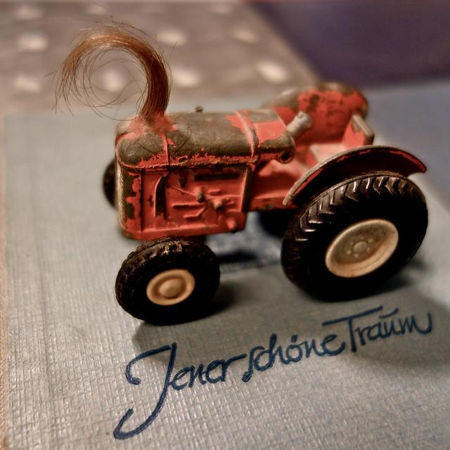 ich als Traktor