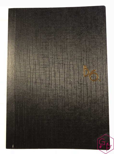 Review The Paper Cuts B6 Tomoe River Notebook @daddylongman 1