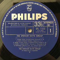 THE SPENCER DAVIS GROUP:THE SPENCER DAVIS GROUP ALBUM(LABEL SIDE-A)