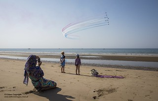 RED ARROWS' DYNAMIC DISPLAY MARKS UK'S HISTORIC TIES WITH OMAN