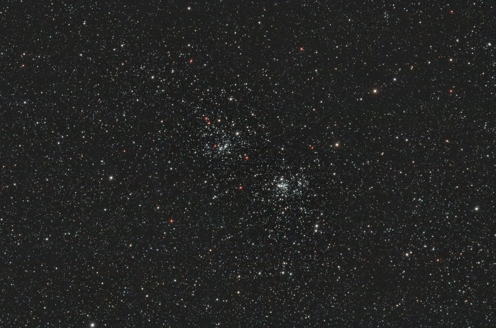 Double Cluster - h Persei (NGC 869) und Chi Persei (NGC 884)