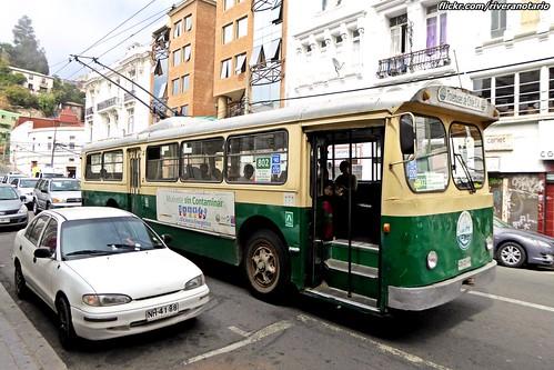 Pullman Standard - Trolebús de Valparaíso, Chile